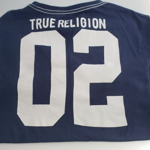 Boys Blue True Religion Tee Shirt